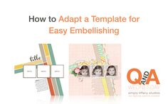 My fellow template scrappers will delight in today's fun tip. It's a little diddy I've been using for years. And I believe many other tenured template focused crafters should do the same ... if the...