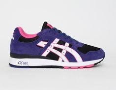 #Asics GT-II Black Purple Pink #Sneakers