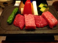 #hotplate #kobe #kobebeef #wagyu #kaiseki #japan #japanesefood #ryokan #beef #vegetables by pumpkinplum