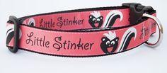 My favorite dog collar! http://www.etsy.com/listing/88295514/lil-stinker-dog-collar-pet-accessories