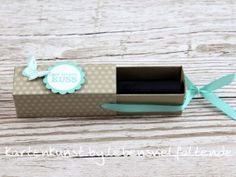 Lippenstift Ziehverpackung - Tolles kleines Geschenk   Verwendet wurden Produkte von  Stampin' Up!