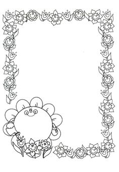 BORDES ESTACIONS DE L'ANY - brichi Monferrer - Álbumes web de Picasa Preschool Coloring Pages, Free Printable Coloring Pages, Colouring Pages, Coloring Books, Borders For Paper, Borders And Frames, Clipart, English Creative Writing, Photo Frame Design