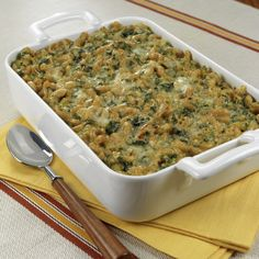 Spinach Mac & Cheese created by The Meal Makeover Moms in partnership with HumanaVitality. What a healthy makeover!