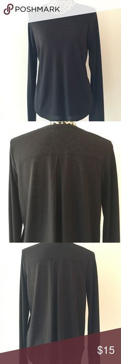 """Vince. Long Sleeve T-shirt Vince. Long Sleeve T-shirt;  21""""-24"""" Length,  44"""" Bust,  29"""" Sleeve Length;  80% Rayon, 20% Polyester;  Hand Wash or Dry Clean Vince Tops Tees - Long Sleeve"""