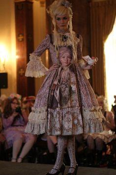 Juliette st Justine Marie Antoinette dress.