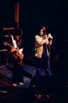 Black Sabbath on stage, 1973