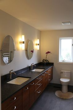 Double Sink Vanity, Vanity Sink, Vanity Design, Showcase Design, Vanities, Your Space, Dressers, Double Vanity, Dresser To Vanity