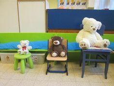 Welke stoel hoort bij welke beer?