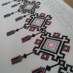 Cross Stitch Geometric, Cross Stitch Samplers, Bargello, Christmas Sweaters, Kids Rugs, Embroidery, Decor, Cross Stitch, Border Tiles