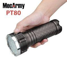 6c98659dea263 MecArmy PT80 16 x Cree XP - G2 9600Lm LED Searchlight 13600mAh Battery Pack Led  Flashlight