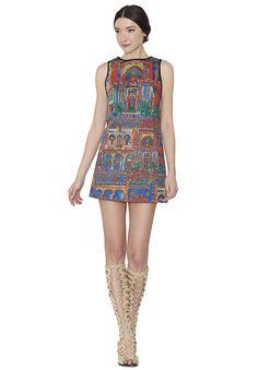 TISHA SHIFT DRESS by Alice + Olivia