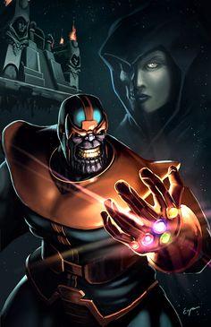 The Infinity Gauntlet by EspenG.deviantart.com on @deviantART