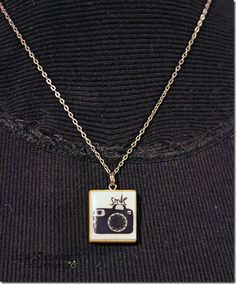 Scrabble Tile Necklace How-To make