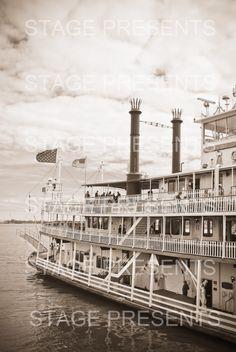 Natchez Riverboat - New Orleans Louisiana - Digital Photo Download - Wall Art - NOLA - River Cruise - Mississippi River - New Orleans Photo by stagedpresents on Etsy https://www.etsy.com/listing/224303339/natchez-riverboat-new-orleans-louisiana