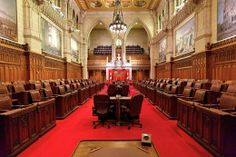 """011SEN-Chamber2 Become A Loonie Builder Over the past year, the Senate of Canada has been front and centre in the media which has reignited a debate among Canadians as to whether or not the Senate should be reformed or abolished.  Let's face it, before the """"Senate scandal,"""" the institution was practically not discussed.  Truth is, it takes a significant event for the Senate to receive any airtime or print at all. Read the Senator's column on reform."""