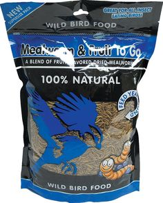 Mealworm And Fruit To Go Wild Bird Food