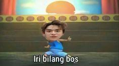 Memes Funny Faces, Funny Kpop Memes, Cute Memes, Cartoon Jokes, Good Jokes, Winwin, Aesthetic Wallpapers, Nct, Haha