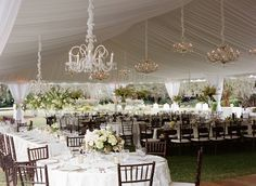 Tented Wedding in Charleston