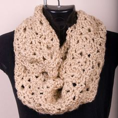 Women's infinity scarf crochet scarf chunky scarf by melissasknits, $24.00...another one!  I love these!!  My friend makes them, and they are georgeous!