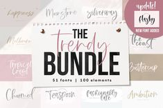 LIMITED TIME OFFER February - NEW font (Flashy) added to the bundle! This bundle includes my favorite NEW fonts ! even if you already many of the fonts included in this bundle. Handwritten Fonts, All Fonts, Script Fonts, Fonts Kids, Alphabet, Boss Babe, Divas, Watercolor Images, Image 30