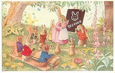 RACEY HELPS ~ vintage postcard, via  eBay