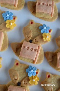 Lucuu.. lucu banget ^^  *Fox Cookies ~ Okash Inokobito, natural
