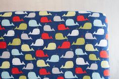Fitted Crib Sheet or Toddler Bed Sheet  Baby Boy by ViviAnnaBanana