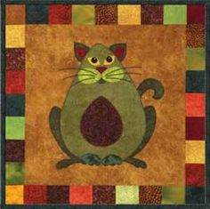 Garden Patch Cats pattern $9 - Avocato