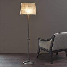 Françoise lamp & Allegra armchair, design by Promemoria., made in Italy. #beautifullifestyle