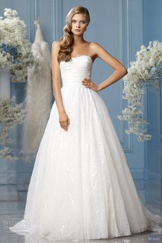 wtoo bridal 2013 catalina strapless wedding dress