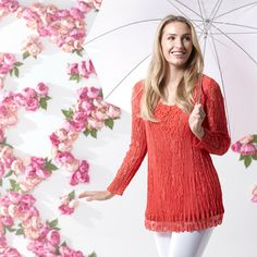 This Fashion by Together lace tunic will rekindle your love of lace and upgrade your wardrobe in an instant.