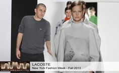 Lacoste Fall 2013 #Collection #Fashion #BelleMonde #Style