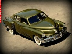 Tucker 48 my new favorite kind of car