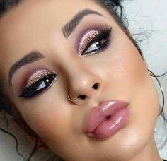 Modern Eye Makeup Ideas ~ Pink