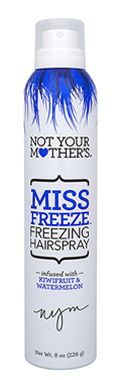 Miss Freeze freezing hairspray - lock in your style #humidityproof  #hairspray #hardhold