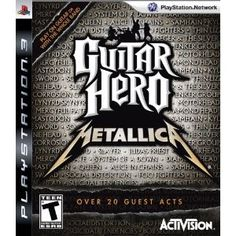 Amazon.com Product Description    Metallica and Guitar Hero fans rejoice: Guitar Hero: Metallica has landed for PlayStation 3. Like Guitar Hero: Aerosmith before it, Guitar Hero: Metallica will focus on the career and songs of Metallica. With 28 Metallica songs and 21 other songs that influenced the band, fans will love playing guitars, drums, and singing vocals alongside Kirk Hammett, Lars Ulrich, James Hetfield, and Robert Trujillo.   .caption { font-family: Verdana, Helve