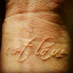 White tattoo quote: c'est la vie!  #suchislife #thatislife #french