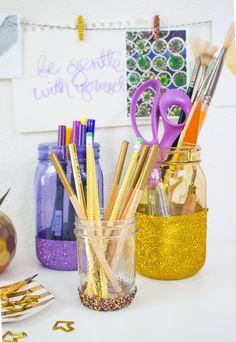 Aleene's Glue Products   Craft & DIY Project Adhesives  3 Glitter Organizing Ideas
