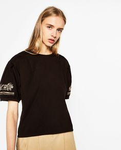 PUFF SLEEVE T-SHIRT