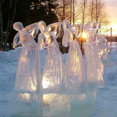 ice ice ice... @ivannairem .. https://tr.pinterest.com/ivannairem/sculptures/