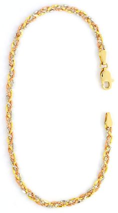 Foto 4, GOLD-KETTE GOLD-ARMBAND, GELBGOLD ROTGOLD WEISSGOLD 18K, K2592