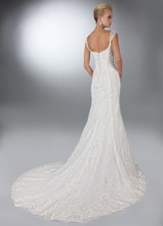 Style 50086 » Wedding Gowns » DaVinci Bridal » Available Colours : Ivory, White (back)