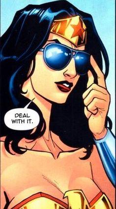 #WonderWoman - Deal with it