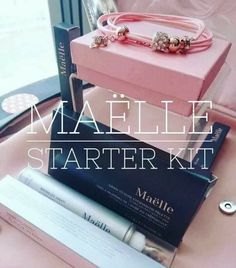 Maëlle Starter Kit £59/$89 Brand New Skincare & Cosmetics company launching Fall 2016. 100% cruelty-free,  PETA certified. #maelle #maëlle #skincare #makeup #mlm
