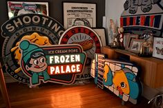 FROZEN PALACE AND SHOOTING DONUTS on Behance