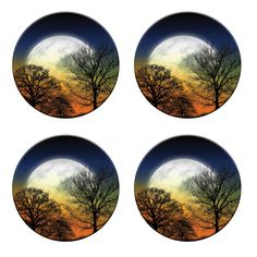 A pack of 4 mystical garden in the moonlight design Pattern weights Ideal for weighing down patterns on delicate fabrics no need for pins by RICEMETALS on Etsy