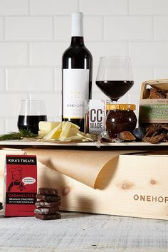 ONEHOPE Wine is a world-class vineyard in Napa Valley that makes a positive impact on the world with every bottle sold. Wine Not? Fig Spread, Gift Crates, Caramel Candy, Wine Online, Vanilla Cream, Wood Gifts, Cabernet Sauvignon, Something Sweet, Graham Crackers