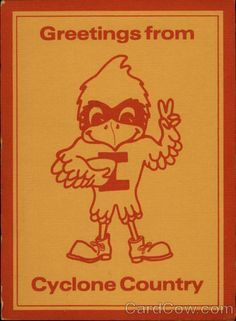 Retro and vintage Cy the Iowa State mascot depictions - Google Search