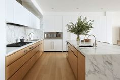 30 Nifty Small Kitchen Design and Decor Ideas to Transform Your Cooking Space - The Trending House All White Kitchen, Diy Kitchen, Kitchen Decor, Kitchen Wood, Kitchen Ideas, Kitchen Pantry, Kitchen Inspiration, Funny Kitchen, Kitchen Flooring