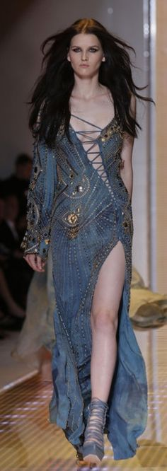 Actually wouldn't wear it....even if I could....but love the different components...Milan Fashion 2013